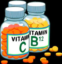RDA von Vitaminen