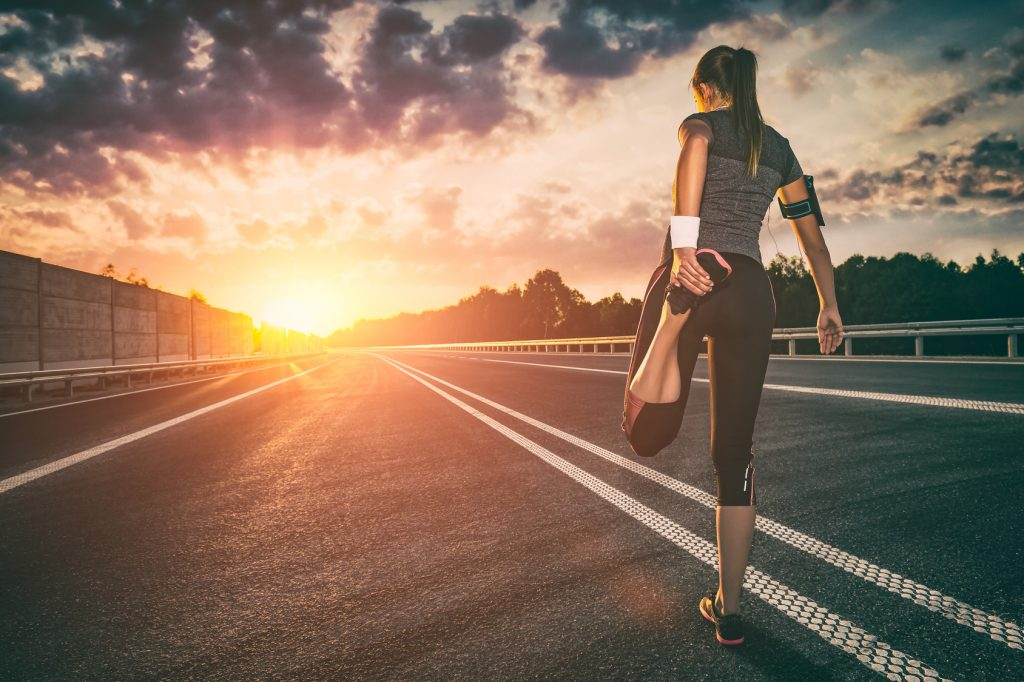 Dehnübungen in der Erholungsphase