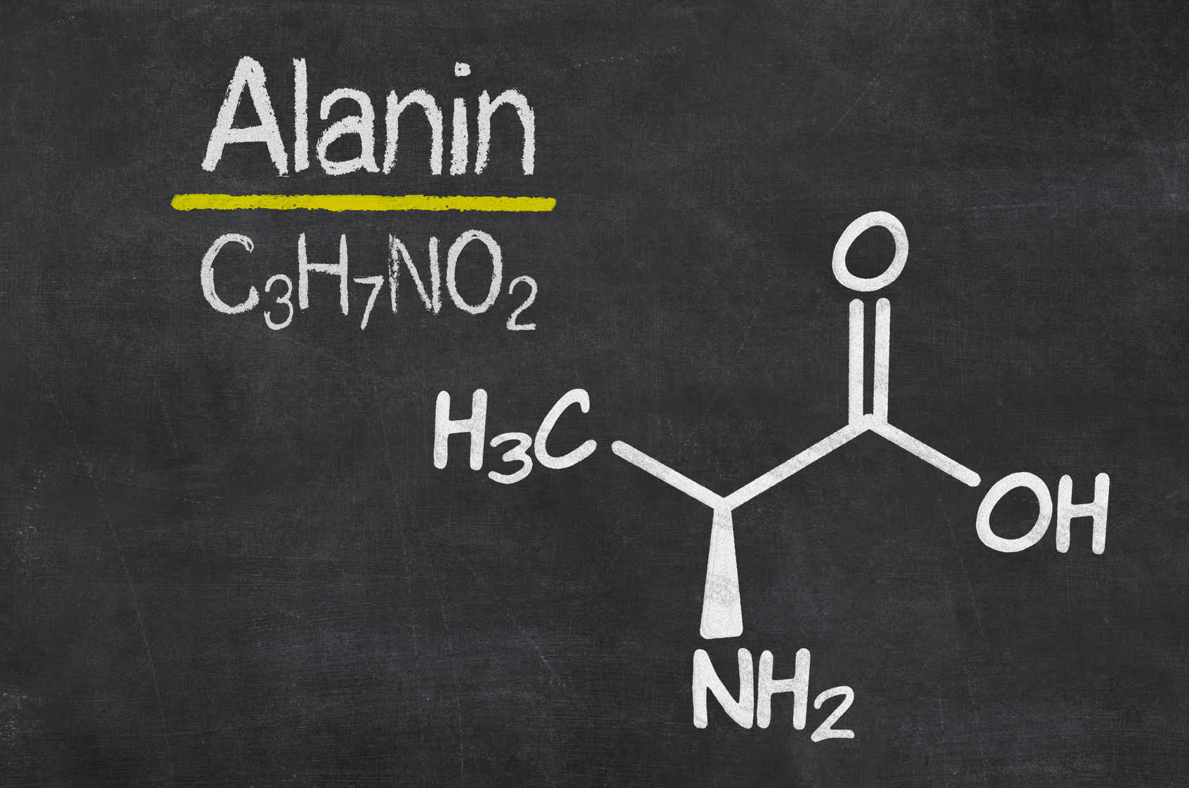 L-Alanin - Formel, Wirkung, Nebenwirkungen, Dosierung