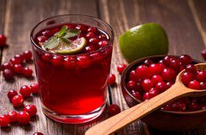 Cranberrysaft um das Immunsystem zu stärken