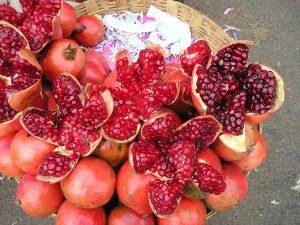 Flavonoide in Lebensmitteln